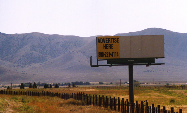 Along U.S. Highway 20/26/93, west of Arco, Idaho (Photo by Pete Dolack)